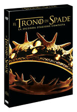 IL TRONO DI SPADE - STAGIONE 2 (5 DVD) COF. SECONDA SERIE Games of Thrones