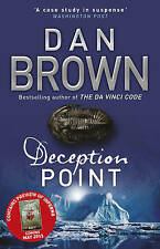 Deception Point by Dan Brown Paperback Crime Thriller Book Books Novel A11 LL229