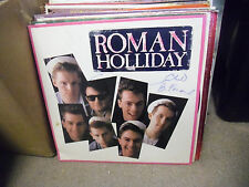 Roman Holliday Stand By vinyl LP JIVE 1983