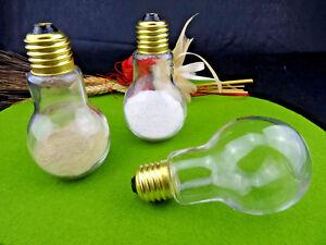 Salzstreuer + Pfefferstreuer Set Glühbirne Lampe Elektriker Elektrik Tisch Deko