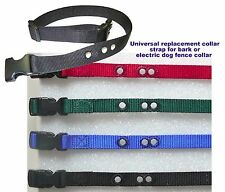 """3/4"""" Universal replacement collar strap for bark or electric dog fence collar"""