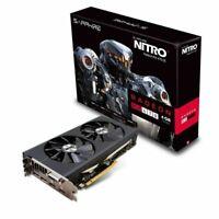 Sapphire Radeon NITRO Rx 470 4GB GDDR5 Dual HDMI / DVI-D / Dual DP Graphics Card