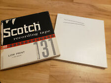 Scotch & Audiotape reel-to-reel tapes- two 10 inch metal reels- FREE SHIPPING!