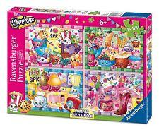 Shopkins - 4 x 100 pce Puzzles