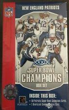 2005 Upper Deck Super Bowl New England Patriots Champions XXXIX Set Tom Brady