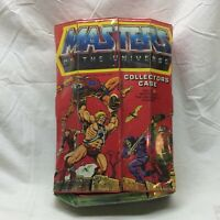 Vintage 1984 Masters of the Universe MOTU He-Man Collectors Case