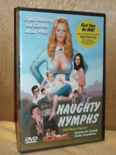 Naughty Nymphs (DVD, 2017) NEW first time on disc Sybil Danning Eva Garden
