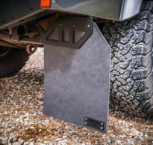 Land Rover Defender Stainless Steel Renegade Mudflap Brackets 110 - Uproar 4x4