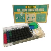 HGS Molecular Structure Model Kit Organic Chemistry Orgo College Maruzen As Is