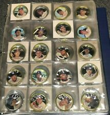 1964 Topps Coins Complete Set 3 Mickey Mantle Clemente Mays Rose Average Shape.