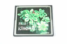 Kingston Elite Compact Flash CF Memory Card 8GB For Professional Camera DH5073