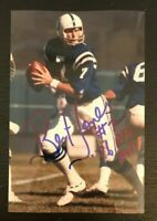 BERT JONES NFL Indianapolis Colts Football Auto Autographed Signed 4x6 Photo 3