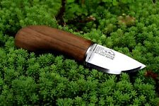 "Small 6.5"" Mushroom Knife for Camping and Outdoor Fixed Blade Knife Wood Handle"