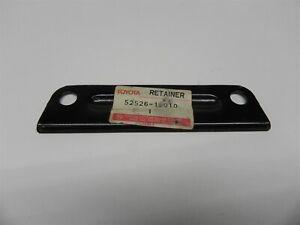 1987-88-89-90 TOYOTA TERCEL NOS OEM FRONT BUMPER RETAINER BRACKET # 52526-12010