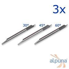 3 Plottermesser für Summa T - 60° Summagraphics Summasign ALPUNA Qualitätsmesser