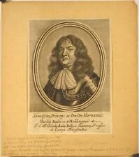 Portrait du Marquis Hermann de Baden, XVIIe