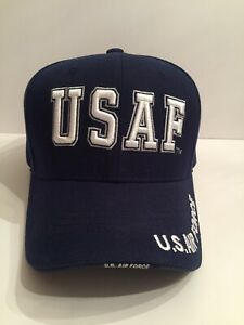 USAF US Force Embroidered Hat Cap Officially Licensed S001 - Preowned