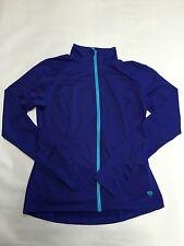 Womens MOUNTAIN HARDWEAR Purple Zip Up Stretch Athletic Shirt Sz S