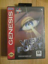 ORGINAL NEW SEALED Viewpoint SEGA MEGA DRIVE Megadrive Genesis NTSC no NEO GEO