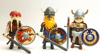 3x Playmobil Brauch Wikinger Custom Viking - Rar TOP #2