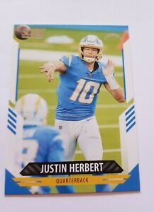 2021 Score  - 'Justin Herbert - Chargers' - Base Card