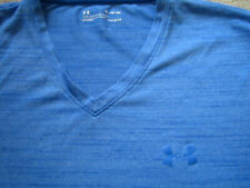 Under Armour Loose Mens Ss Polyester Activewear V-Neck T-Shirt - Xl