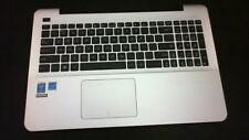 New listing Asus X555L Laptop Palmrest Keyboard Trackpad Assembly - Tested