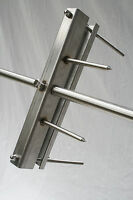 Heavy Duty Hog Roast Spit Fork with Integrated Leg brackets