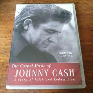 The Gospel Music of Johnny Cash DVD R4 Like New! FREE POST