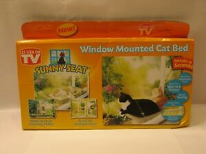 Sunny Seat Window Mounted Cat Bed Holds Up to 50lbs - New