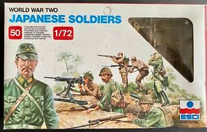 World War Two Japanese Soldiers - INCOMPLETE (contains 27 out of 50 soldiers)