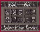 FRANCE 1986 BLOC CINEMA N°9**LUXE MNH CINEMATHEQUE, Sheet MNH