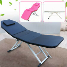 Folding Massage Table Beauty Tattoo Couch Salon Therapy Physic Relax Bed 182CM