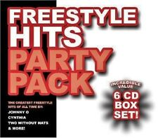 6 CD box FREESTYLE HITS Johnny O,Cynthia,TPE,Two Without Hats,Tiana,Clear Touch