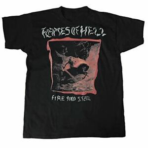 Flames Of Hell Fire and Steel T-Shirt