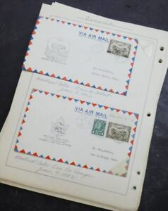 EDW1949SELL : CANADA IN-DEPTH collection of 106 ALL DIFF. First Flight covers.