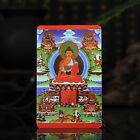 Tibet+Tibetan+Buddhism++Exquisite+painting+Amulet+thangka+Shakya+Muni+Buddha