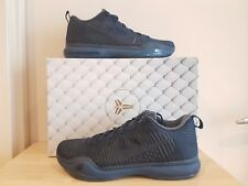 "NIKE KOBE X Elite low ""Fade to Black"" BASKETBALL SHOES Mens US11 Dark Obsidian"