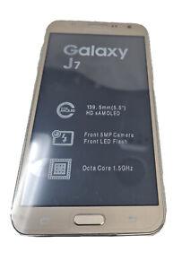 Samsung Galaxy J7 SM J700F DS 4G Unlocked GOLD Refurbished Android T-Mobile ATT