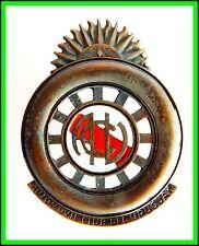 AUTOMOVIL CLUB del URUGUAY - OLD PAINTED BADGE