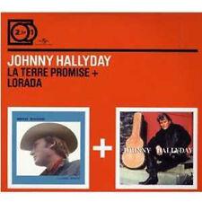 2 CD Johnny HALLYDAY La Terre Promise - Lorada  +++++++