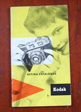Kodak Ag Retina Catalogue, 1958/cks/206461
