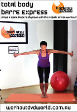 Ballet Barre EXERCISE DVD - Barlates Body Blitz - TOTAL BODY BARRE EXPRESS!