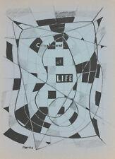George L. K. Morris original lithograph