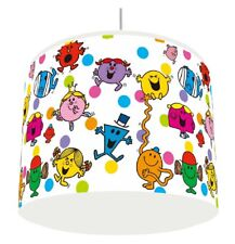 MR MEN AND LITTLE MISS LIGHT LAMPSHADE KIDS ROOM matches duvet set   FREE P&P