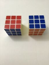 2 PC RUBIK'S CUBE 3X3X3 FOR AGES 6+ BRAIN GAME