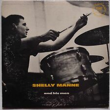 "SHELLY MANNE & HIS MEN: Bud Shank CONTEMPORARY 10"" LP scarce ORIG vinyl"