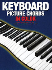 Keyboard Picture Chords in Color Learn How to Play Piano Music Lessons Book NEW
