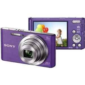 Sony DSC-W830 Cyber-Shot Violet W-830 Zeiss 25mm 8X