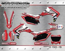 Honda CRf 250R 2014 up to 2016 graphics decals sticker kit Moto StyleMX
